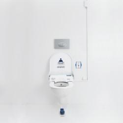 tottolet® Elektrikli-Pedalet®'li Otomatik Hijyenik Klozet Kapak Sistemi Paketi 15 adet Rulo